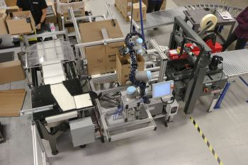 robotic package cycling