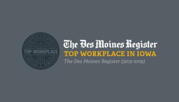 top workplace in iowa