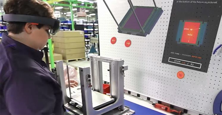 AR and VR enhance training in manufacturing