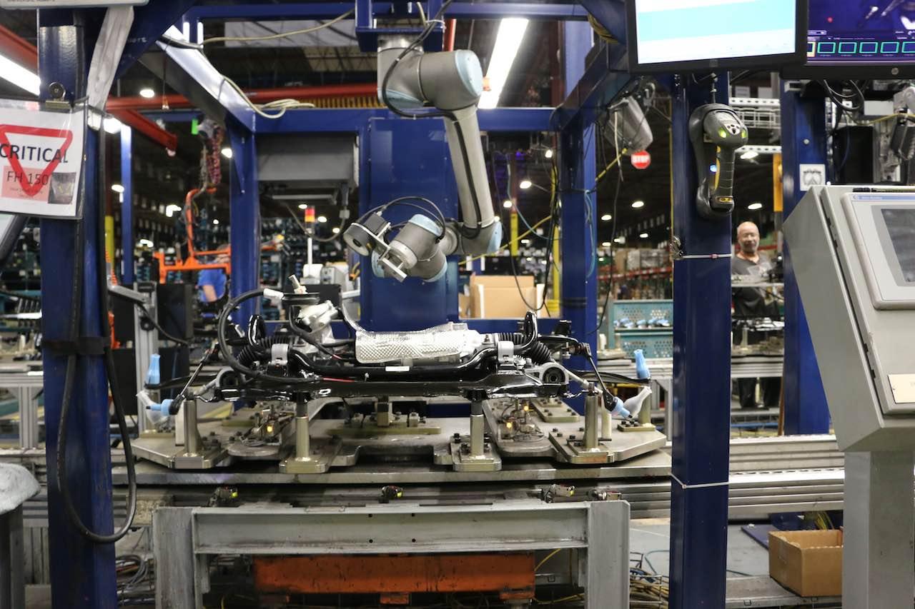 robotic welding application