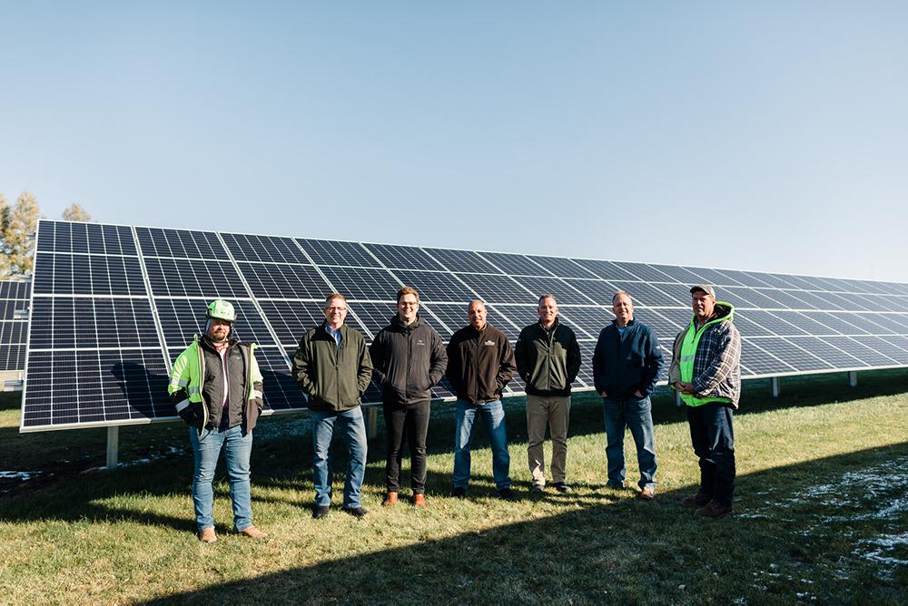2.5 megawatt solar array