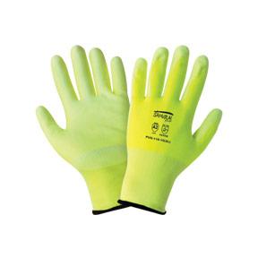 Samurai High - Visibility PU Coated Cut Resistant Gloves [PUG-118]