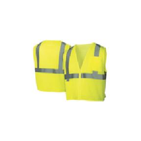 Pyramex - Type R - Class 2 Hi-Vis Lime Safety Vest [RVZ2110]