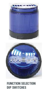 light stack multi-function light modules