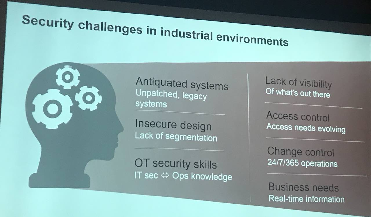 security challenges in industrial environments